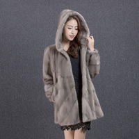 Real Mink Coat Female Jacket Winter Coat Women Clothes 2020 Luxury Natural Fur Coats Warm Outwear Manteau Femme MY4390