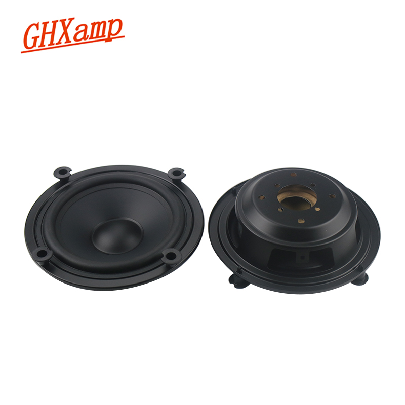 GHXAMP 4 Inch 5 Inch Bass Auxiliary Speaker Passive Radiator Woofer Booster Fake Speaker 2PCS