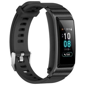 Image 2 - Huawei Oryginalna bransoletka smart TalkBand B5, sportowa opaska, smartwach z Bluetooth i dotykowym ekranem AMOLED, inteligentne podłączenie do słuchawek