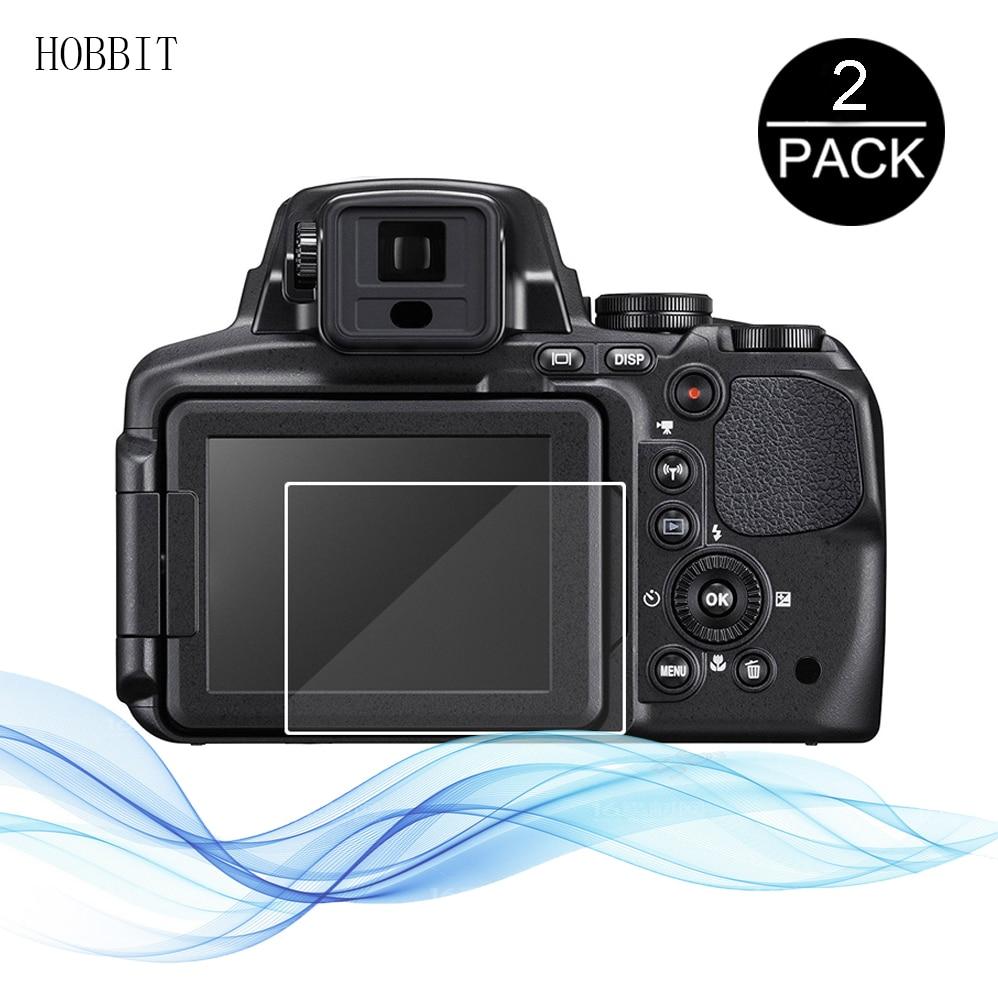 2 Pièces Pour Nikon B500 B700 P900 P900s P610 P600 J5 J4 V3 A1000 A900 A300 A100 A10 P7800 P1000 P530 Film De Protection En Verre Trempé