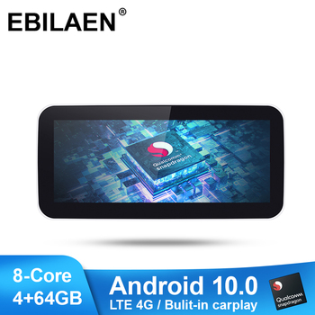 цена на EBILAEN Car Multimedia Player for Mercedes Benz C Class W205 2014-2018 Android 10.0 Autoradio Navigation 10.25' IPS Screen GPS