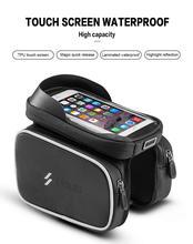 Cycling Bicycle Bike Head Tube Handlebar Cell Mobile Phone Bag For Bike Cycling Accessories