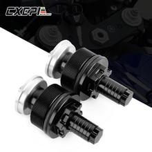 Motorcycle CNC Aluminum Fork Preload Adjuster Bolts Cap For Yamaha R3 2015-2018 R25 2013-2018 MT07 MT 07