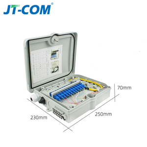 Image 4 - 12 core or 24 core Termination FTTH fiber optic distribution box full with single mode pigtail SC adapter