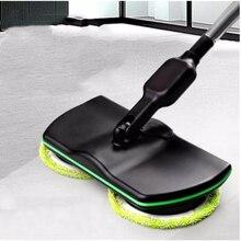 Limpiador de suelo inalámbrico recargable, mopa de vapor giratoria, limpiador eléctrico para piso