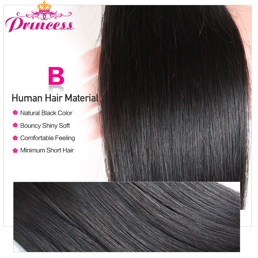H7fc51d35281c4122a5dc94181e65cbb9d Beautiful Princess Peruvian Straight Hair 3 Bundles With Closure Double Weft Remy Human Hair Bundles With Lace Closure