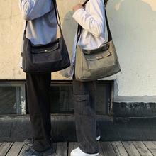 School-Bags Teenager Handbag Mochila Satchel Messenger-Bag Canvas Girl Boys Fashion