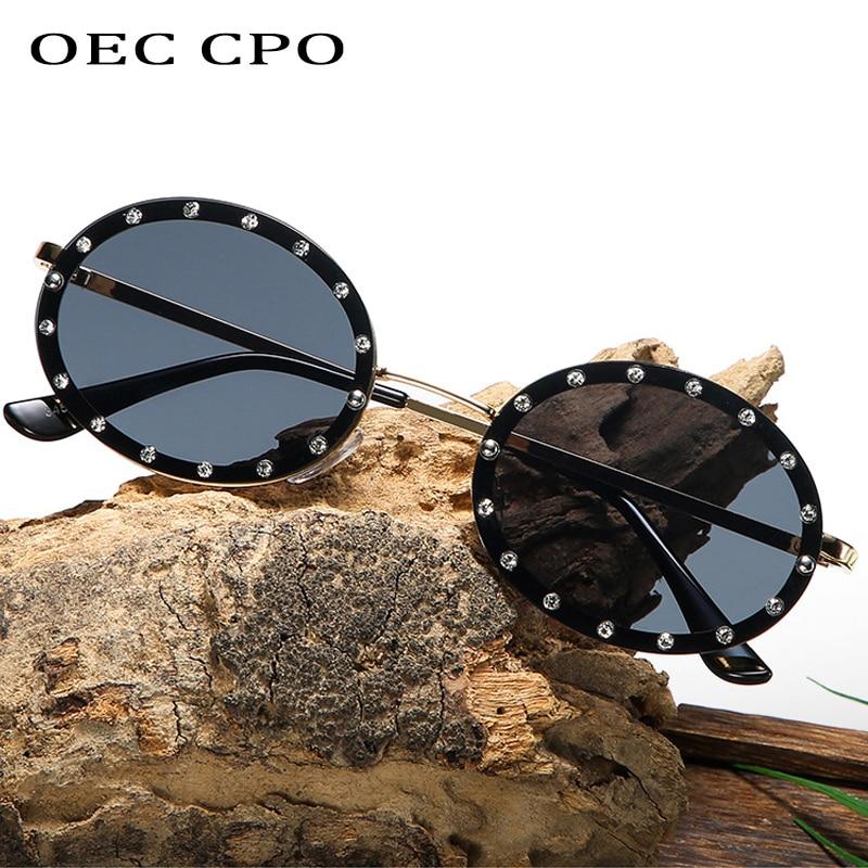 Marke Neue Design Klassische Runde Sonnenbrille Männer Kleine Vintage Gläser Frauen Fahren Metall Brillen Hohe Qualität Gläser UV400 O456