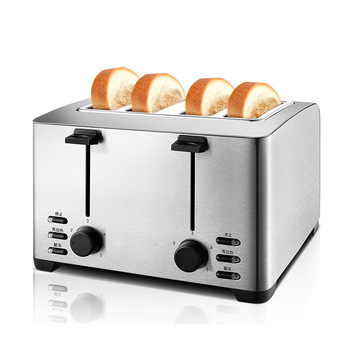 4 Slices Breakfast Machine Toaster Stove Bread Maker Equipment Automatic Toaster Household Toast Machine THT-3012B 1