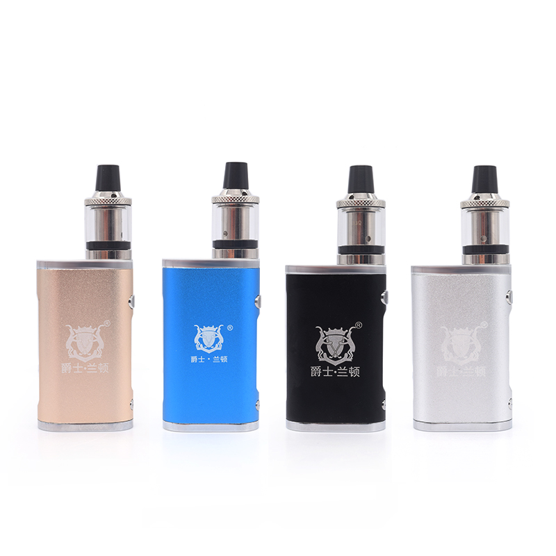 Electronic Cigarette Jsld 80W Adjustable Vape Mod Box Kit 2000mah 0.3ohm Battery 3ml Tank E-cigarette Large Smoke Atomizer Txw80