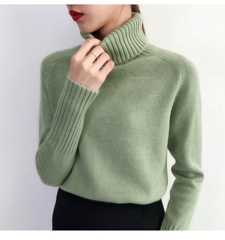 Surmiitro женский свитер 2019 осень зима кашемировый вязаный женский свитер и пуловер женская Трикотажная майка джемпер Pull Femme