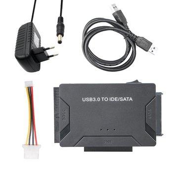 Adaptador de datos 3 en 1 USB 3,0 a SATA IDE para...