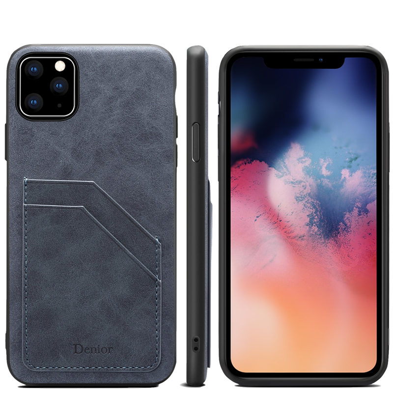 Double Card Leather Case for iPhone 11/11 Pro/11 Pro Max 1