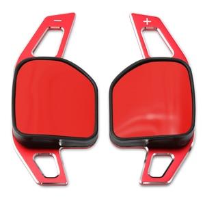 Image 5 - Auto Lenkrad DSG Paddle Verlängerung Schalthebel Shift Aufkleber Dekoration Fit Für Seat Alhambra/Ateca/Leon FR/ leon/Leon 4 5F