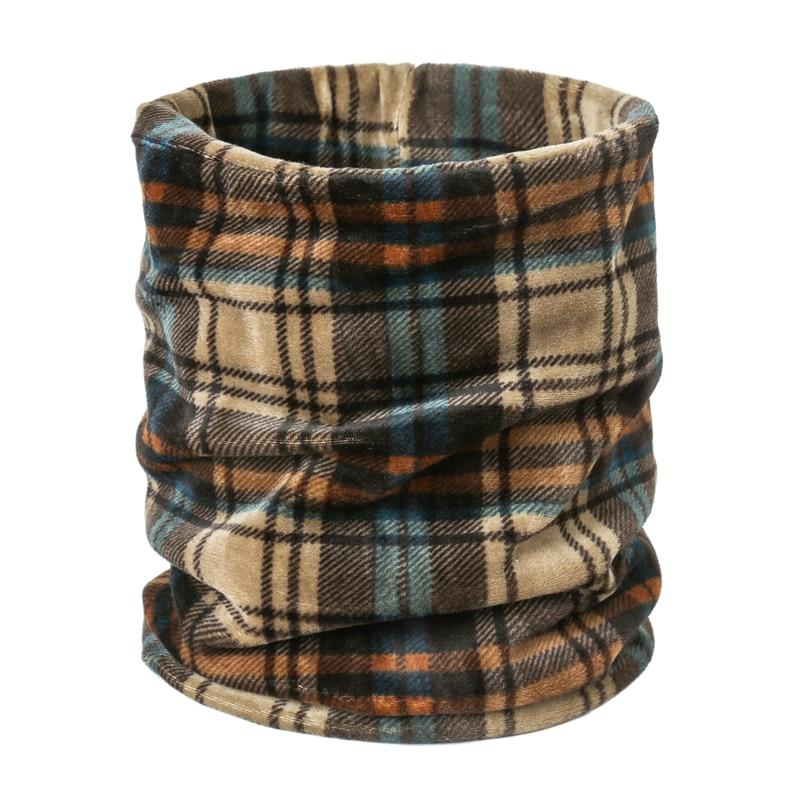 2019 New Designer Women Scarf Set Lady Hat Winter Warm Soft Elasticity Neck Rings Scarves Headgear Female Foulard Headscarf