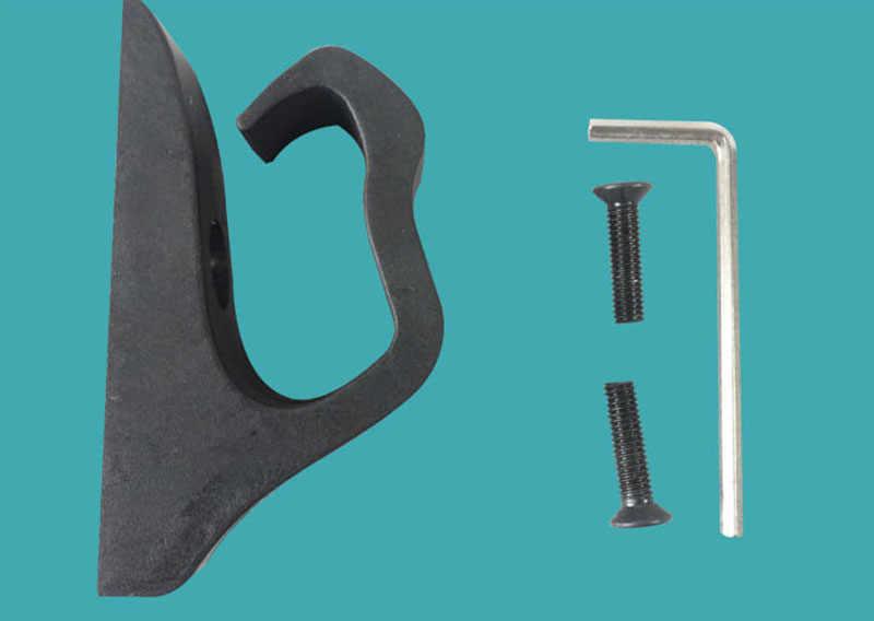 電動スクーターのフロントフックハンガーホルダーヘルメットバッグ爪スケートボードハンドルバッグ部分 xiaomi M365 スクーターパーツアクセサリー