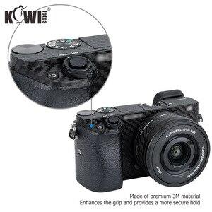 Image 4 - KIWIFOTOS กล้องคาร์บอนไฟเบอร์ฟิล์มสำหรับ Sony A6000 + 16 50 มม.เลนส์ป้องกัน scratch Anti SLIDE กล้อง 3M สติกเกอร์