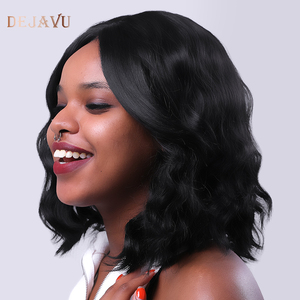 Dejavu Lace Front Human Hair Wigs Body Wave Human Hair Wigs 13*4 Lace Front Wig Remy Hair Density 150% Lace Wigs For Women(China)