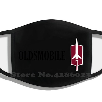 Oldsmobile Printing Washable Breathable Reusable Cotton Mouth Mask Oldsmobile Auto Automobile Car Logo American image