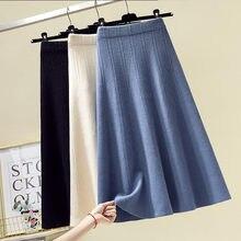 Autumn and Winter Clothing New Large Size Women's Fashion Slim Elastic Waist Woman Loose Knitting