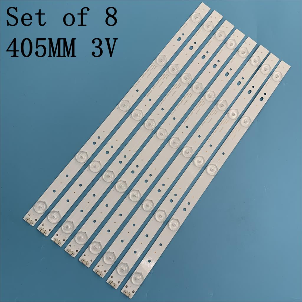 New LED Backlight Strip 43E3000 43E3500 43E6000 E465853 5835-W43002-2P00 5800-W43001-3P00 VER01.00 02K03177A RDL430WY LD0-10D