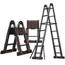 Ladder Foldable Aluminum-Alloy Anti-Tilting Strengthen Multifunctional I-Type-Ladder/straight