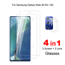 For Samsung Galaxy Note 20 5G / 4G Camera Lens Film & Protective Glass Screen Protector Tempered Glass Guard