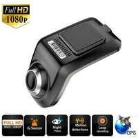 Full HD 1080P Min Macchina Fotografica Dell'automobile DVR U3 ADAS Auto Digital Video Recorder Dash Cam per il Lettore Multimediale Android g-Sensor Car Dvr