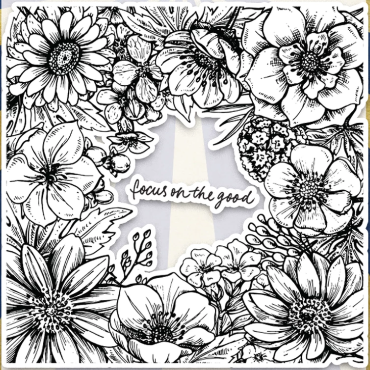 Flower Background Transparent Clear Silicone Stamp Seal For DIY Scrapbooking Photo Album Decorative Clear Stamps A1078