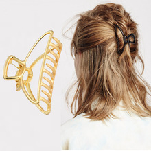 1 Pc  Retro Geometric Alloy Hair Claws Clips Women Large Making Tools Elegant Party Accessories Hairdressing Tool