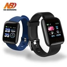 2020 d13 relógios inteligentes 116 mais freqüência cardíaca relógio inteligente pulseira esportes relógios banda inteligente à prova da2 água smartwatch android a2 iwo