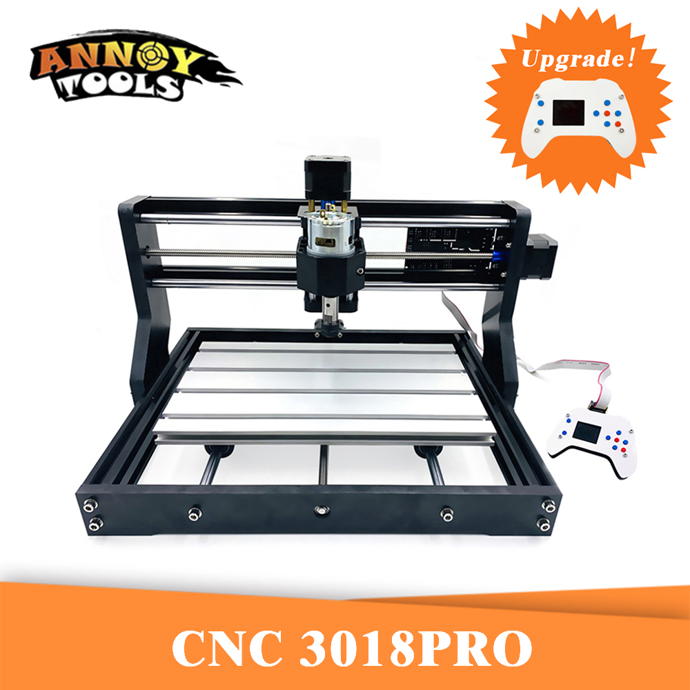 CNC 3018 Pro GRBL Diy cnc machine 3 Axis Bakelite Milling machine Wood Router laser engraving