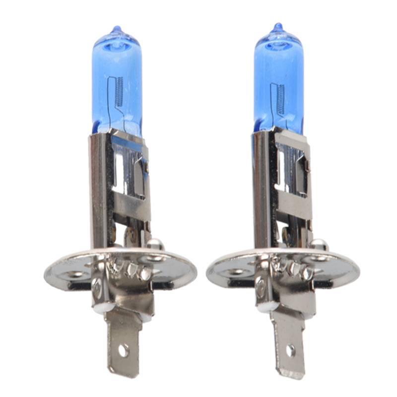 2 X H1 XENON HID SUPER WHITE HEADLIGHT Bulbs Bulb