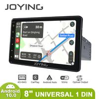 8JOYING Universal Radio Stereo pantalla 1 din Android 10 1280*720 Head Unit Central Multimedia Carplay Android Auto 4G DVR OBD2