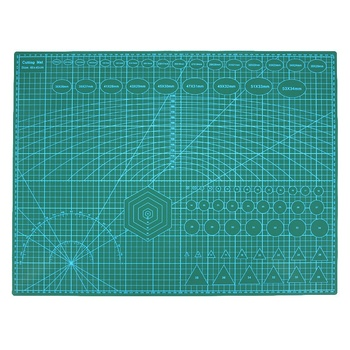 A2 Pvc Double Printed Self Healing Cutting Mat Craft Quilting Scrapbooking Board 60 x 45Cm Patchwork Fabric Paper Craft Tools – купить по цене $21.07 в aliexpress.com | imall.com