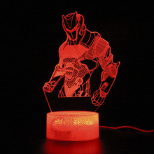 Battle Royale Lamp Illusion Touch 3d Table Lamp Base Sleep Light Party Decoration Nightlight 3d лампа 3d lamp утенок