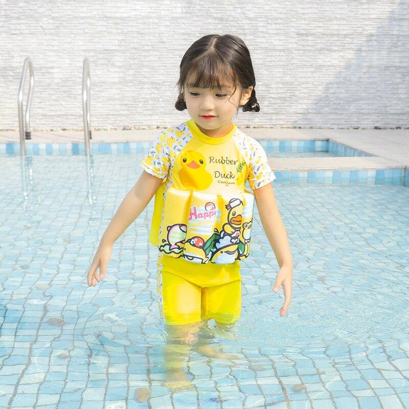 KID'S Swimwear Girls BOY'S Swimsuit Infant Baby Swimwear Hipster Buoyancy Tour Bathing Suit