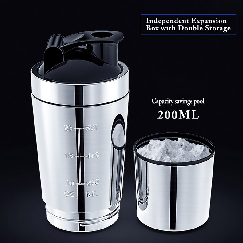 H7fc8cb0dd404499c876f9b9380d8e0d2X 26OZ Water Bottles Detachable Whey Protein Powder Sport Shaker Bottle For Stainless Steel Cup Vacuum Mixer Outdoor Drinkware