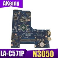 For Dell Inspiron 15 5000 5552 Laptop motherboard AAL14 LA C571P CN 06KW6N 6KW6N 06KW6N with N3050u CPU DDR3 100% Test ok