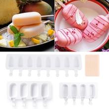 Силиконовая форма для мороженого, форма «сделай сам» для приготовления домашнего льда, 4 ячейки, большой размер, форма для приготовления льд...