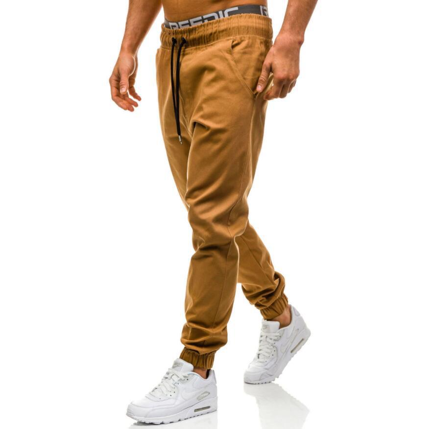 Men's Wear 2020 New Style Men Hot Selling Casual With Drawstring Elastic Sports Baggy Pants Open-seat Pants 3082