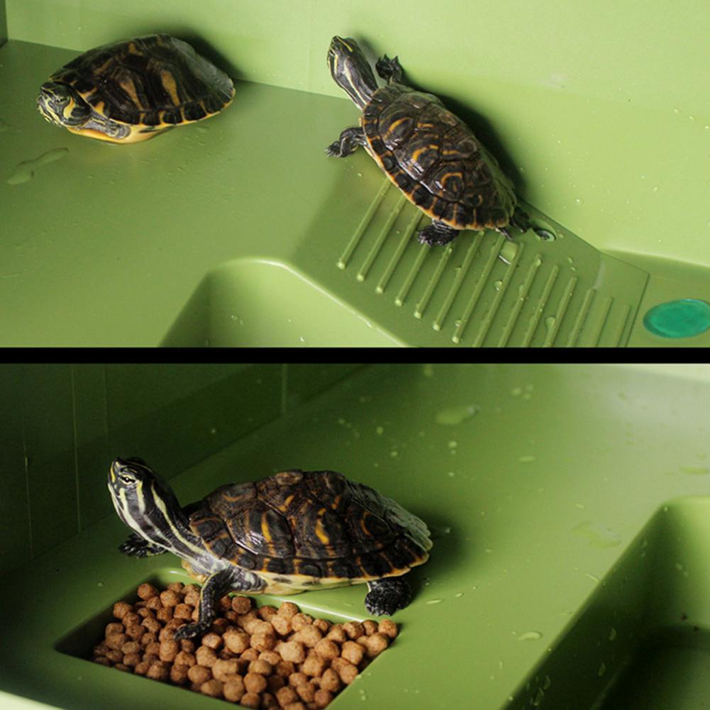 Turtle Frog Floating Island Aquatic Pet Reptile Supplies Aquarium Ornament Turtle Pier Reptile Habitat-25