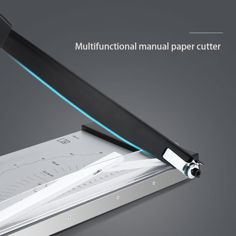 Manual Paper Cutter Household Multifunctional Manual Cutter Small Guillotine Photo Card Paper A4 Cutting Machine Office Supplies