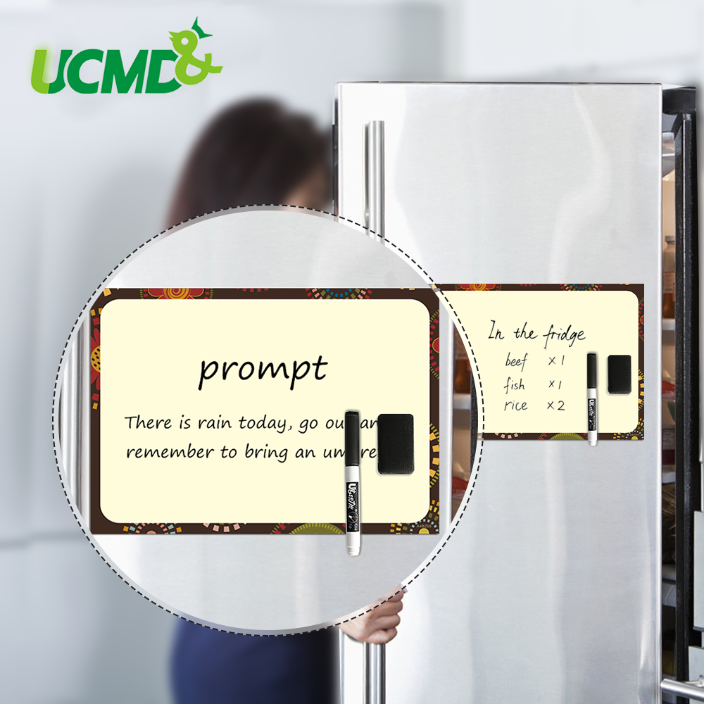 Magnetic Whiteboard Fridge Magnets Sticker White Board Marker Eraser Writing Remind Memo Record Message Board For Home Office