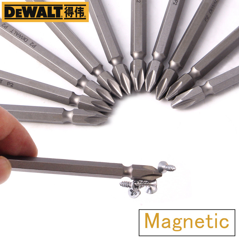 Super Hard Magnet Magnetizer Cross Magnetic Batch Header For DeWALT Electric Drill Double Head Electric Screwdriver Screwdriver