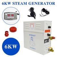 6KW 220V Steam Generator for sauna bath home SPA shower with ST 135M controller