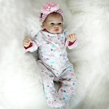"""OtardDolls 22 """"Bebe Reborn Puppen 55cm Handgemachte Reborn Baby Puppe Vinyl Silikon boneca lebensechte spielzeug für Mädchen Geburtstag geschenke"""