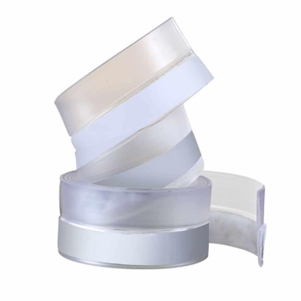 Transparan Tahan Angin Silicone Sealing Strip Bar Pintu Sealing Strip Rumah Pintu Jendela Pita Strip Hot Sale