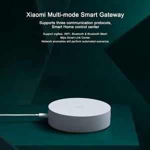 Image 3 - Xiaomi Mijia Multi Mode Smart Gateway Voice Afstandsbediening Automatisering Werken Met Zigbee Wifi Bluetooth Mesh Smart Linkage Apparaten
