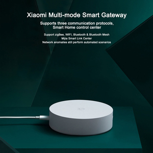 Image 3 - Xiaomi Mijia Multi Mode Smart Gateway Voice Remote Control Automation work with ZigBee WIFI Bluetooth Mesh Smart Linkage Devices